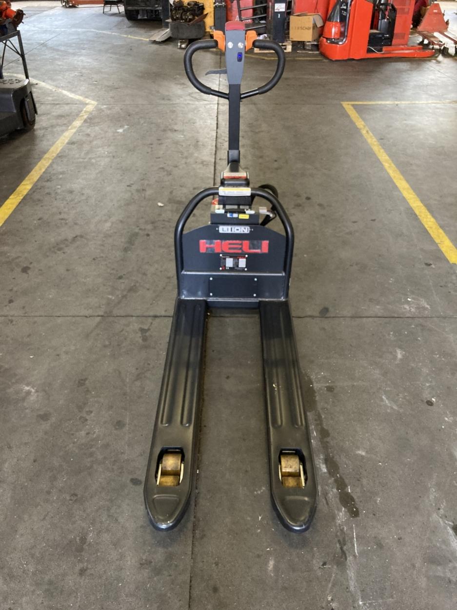 S787 [2020] Wózek elektryczny paletowy 1,5t litowo-jonowy  - zdjęcie nr 1