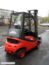 S337 [1995] WÓZEK WIDŁOWY LINDE H16D diesel 1,6t przesuw boczny