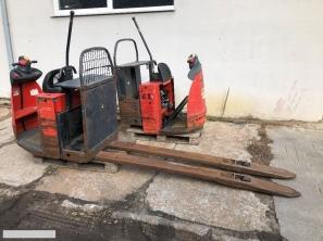 S428 Wózek paletowy elektryczny Linde N20 2 tony elektryk widły 2350