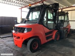 S666 [2014] Wózek Widłowy Linde H80D-900 diesel 8t