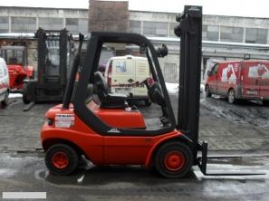 S852 [1989] WÓZEK WIDŁOWY LINDE H25D diesel 2,5t