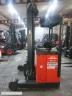 S361 [1997] WÓZEK ELEKTRYCZNY REACH TRUCK R14 1,4t bateria używana, prostownik - zdjęcie nr 6