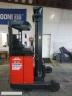 S361 [1997] WÓZEK ELEKTRYCZNY REACH TRUCK R14 1,4t bateria używana, prostownik - zdjęcie nr 10