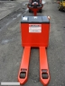 S405 [2003] WÓZEK ELEKTRYCZNY PALETOWY LINDE T16 1,6t z prostownikiem - zdjęcie nr 6