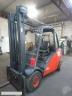S469 [2007] WÓZEK WIDŁOWY LINDE H35D diesel 3,5t przesuw boczny - zdjęcie nr 2