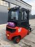 S598 [2013] WÓZEK WIDŁOWY LINDE H16T gaz 1,6t przesuw boczny, triplex, kabina - zdjęcie nr 5