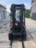 S598 [2013] WÓZEK WIDŁOWY LINDE H16T gaz 1,6t przesuw boczny, triplex, kabina - zdjęcie nr 10