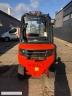 S601 [2007] WÓZEK WIDŁOWY LINDE H25D diesel 2,5t duplex z wolnym skokiem, przesuw boczny - zdjęcie nr 7
