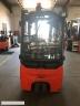 S603 [2008] WÓZEK WIDŁOWY elektryczny LINDE E16 1,6t triplex, kabina, przesuw - zdjęcie nr 4