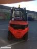 S615 [2011] WÓZEK WIDŁOWY LINDE H45T GAZ 4,5tony przesuw boczny - zdjęcie nr 2