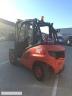 S615 [2011] WÓZEK WIDŁOWY LINDE H45T GAZ 4,5tony przesuw boczny - zdjęcie nr 3