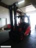S619 [2007] WÓZEK WIDŁOWY LINDE H35T gaz 3,5t przesuw boczny, wysoka kabina - zdjęcie nr 3