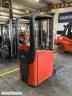S624 [2007] WÓZEK ELEKTRYCZNY Linde E10 1t triplex, bateria używana, prostownik - zdjęcie nr 4