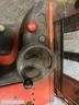 S624 [2007] WÓZEK ELEKTRYCZNY Linde E10 1t triplex, bateria używana, prostownik - zdjęcie nr 9