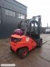S626 [2012] WÓZEK WIDŁOWY LINDE H25T GAZ 2,5t przesuw boczny - zdjęcie nr 3