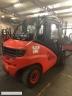 S630 [2014] WÓZEK WIDŁOWY LINDE H50T GAZ 5t do kontnenera 2,22m, 5t na 600mm, wersja dociążona, przesuw - zdjęcie nr 4