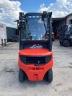 S801 [2014] WÓZEK WIDŁOWY LINDE H18D diesel 1,8t duplex z wolnym skokiem, przesuw boczny - zdjęcie nr 7