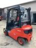S801 [2014] WÓZEK WIDŁOWY LINDE H18D diesel 1,8t duplex z wolnym skokiem, przesuw boczny - zdjęcie nr 8