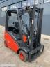 S801 [2014] WÓZEK WIDŁOWY LINDE H18D diesel 1,8t duplex z wolnym skokiem, przesuw boczny - zdjęcie nr 4