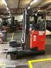 S812 [2013] WÓZEK Reach Truck Linde R25 F 4 kierunki triplex, bateria używana, prostownik - zdjęcie nr 5