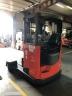 S812 [2013] WÓZEK Reach Truck Linde R25 F 4 kierunki triplex, bateria używana, prostownik - zdjęcie nr 6