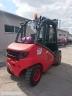 S820 [2006] WÓZEK WIDŁOWY LINDE H50T GAZ 5ton przesuw boczny - zdjęcie nr 4