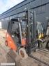 S827 [2013] WÓZEK WIDŁOWY LINDE H20D diesel 2t 2t na 600mm, przesuw boczny - zdjęcie nr 4