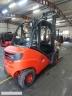 S832 [2013] WÓZEK WIDŁOWY LINDE H35D diesel 35t przesuw boczny - zdjęcie nr 4
