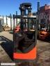 S838 [2011] WÓZEK ELEKTRYCZNY REACH TRUCK Linde R16 16t prostownik w komplecie - zdjęcie nr 4